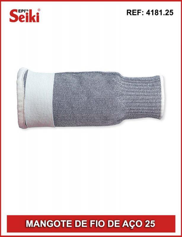Mangote tricotado